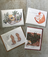 Assorted Gotomago Greeting Cards