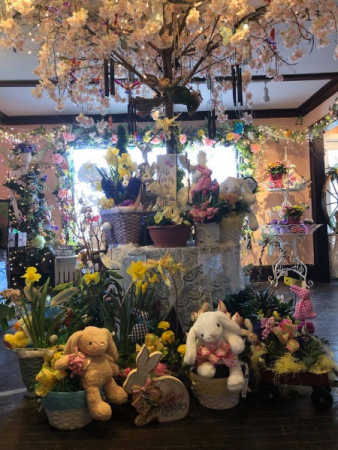 Assorted Live Easter Plant Basket! Plant Basket