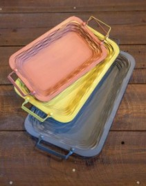 Assorted Metal Trays