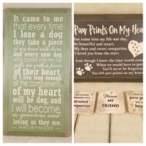 Assorted Pet Sympathy Gifts