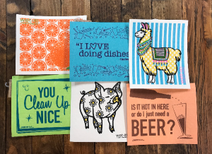 Assorted Reusable Cloths  in Yankton, SD | Pied Piper Flowers & Gifts