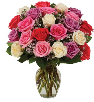 Assorted Roses - Pastel