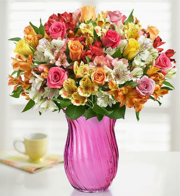 Assorted Roses & Peruvian Lilies ROSES
