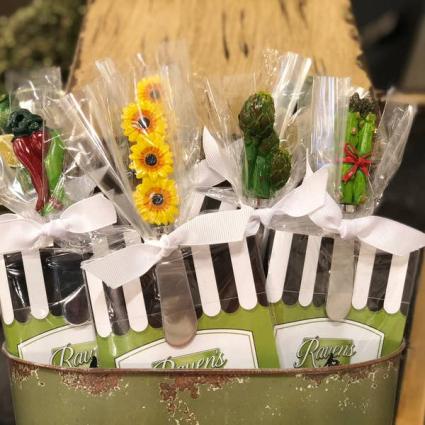 Assorted  Spreaders & Garden Party Gift Pack