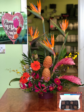 Assorted Tropical Mothers Day Package!