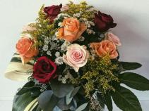 Assorted Valentines Rose Arrangment Valentine