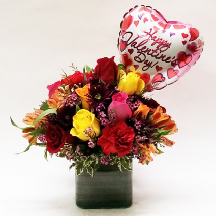 Assorted Valentine's Day Special  Includes Sm. Balloon