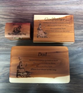 Assorted wood boxes Personalized engravable gift
