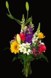 Assoted Smiles vase in Sarasota, Florida | Bee Ridge Florist
