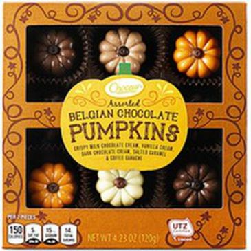 ASST Chocolate Pumpkins- Belgian NEW IN !!!!