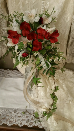 Astro Lily Bridal Bouquet Wedding Flowers