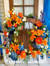Astros Wreath