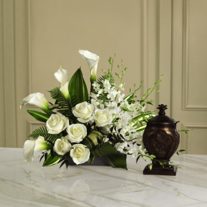 At Peace Arrangement Urn Tribute in Las Vegas, NV | Blooming Memory