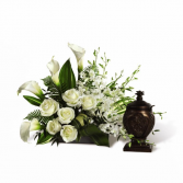 At Peace Cremation Flowers  (Urn not included)