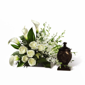 At Peace Cremation Flowers  (Urn not included) in Richland, WA | ARLENE'S FLOWERS AND GIFTS