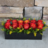 Atomic Love Bed of Roses Contemporary Rose Arrangement in Woodinville, Washington | WOODINVILLE FLORIST