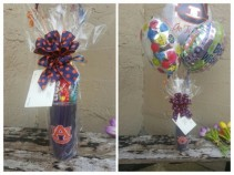 AU Cup With Candy & Balloons Gift Cup With Candy