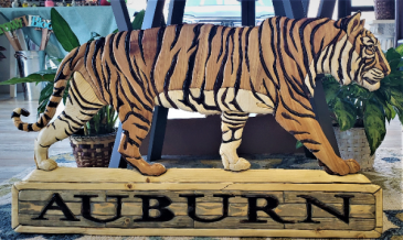 AU Wooden Tiger Gift Item