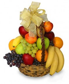 Classic Fruit Basket Gift Basket in Yarra Junction, VIC | Flowers@junction