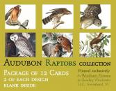 Audubon Card Set Raptor Collection