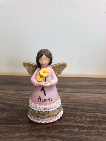 Aunt angel figurine Ceramic figurine