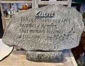 Aunt Memorial Stone Memorial Stone