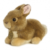 "Aurora Plush Baby Bunny 7"""