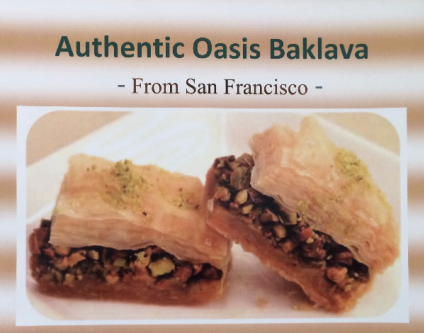 Authentic Oasis Baklava In-Store Pick Up and Delivery Available!