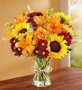 Autum Harvest Floral Arrangment