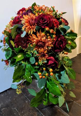 Autumn Abound Bridal Bouquet Wedding Flowers