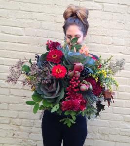 Autumn Abundance  Handtied Bouquet