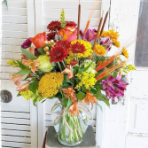 Autumn Admiration Vase Arrangement