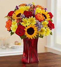 Autumn Amazement Vase Arrangement