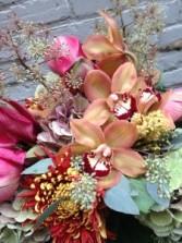 Autumn Ambiance Handtied Bouquet