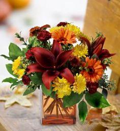 Autumn Avenue Floral Arrangement