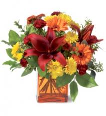 Autumn Awe Bq floral arrangement