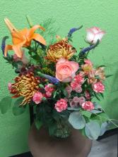 Autumn Beauty Handtied Bouquet