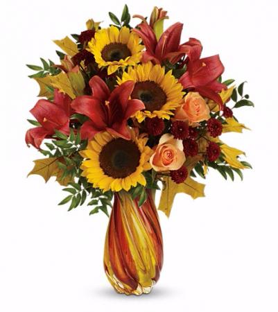 Autumn Beauty  Vase Arrangement