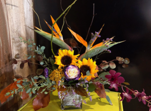 Autumn Birds Enchanted Design in Colorado Springs, CO | ENCHANTED FLORIST II