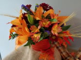 Autumn Blaze Fresh Arrangement