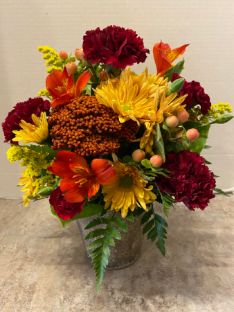 Autumn Blessing Bouquet Fresh Fall