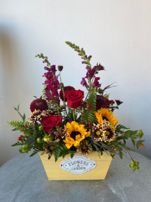 Autumn Blooming Box   in La Grande, OR | FITZGERALD FLOWERS