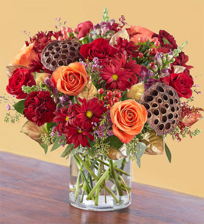 Autumn Blooms Flower Arrangement