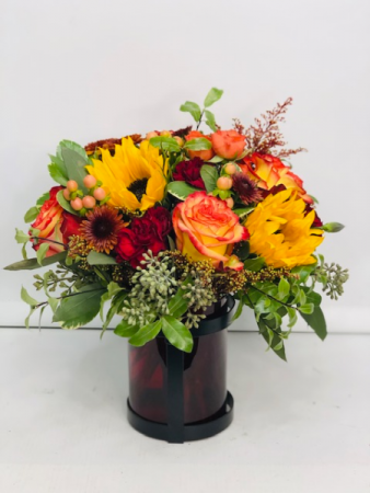 Autumn Bouquet  Vase Arrangement