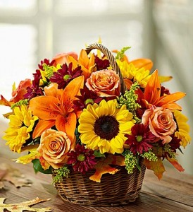 autumn brights basket