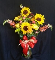 Autumn Burst Arrangement