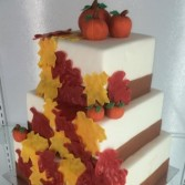 Autumn Cake Sweet Blossoms