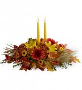 Autumn Candlelight Fall Bouquet