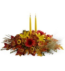 Autumn Candlelight Fall Bouquet