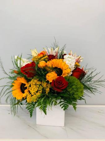 Autumn Celebration Floral Arrangement